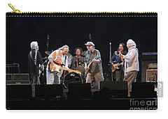 Crosby Stills Nash And Young Carry-all Pouch by Concert Photos