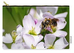 Cuckoo Flowers Carry-all Pouch by Christina Rollo