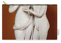 Cupid And Psyche Carry-all Pouch by Antonio Canova