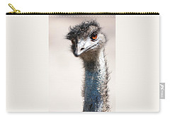 Curious Emu Carry-all Pouch by Carol Groenen