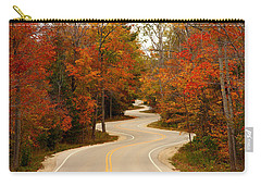 Curvy Fall Carry-all Pouch by Adam Romanowicz