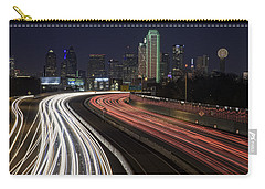 Dallas Night Carry-all Pouch by Rick Berk