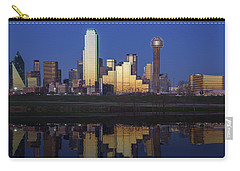 Dallas Twilight Carry-all Pouch by Rick Berk