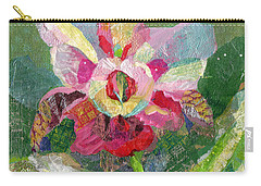 Dancing Orchid II Carry-all Pouch by Shadia Derbyshire