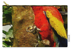 Danse Macaw Carry-all Pouch by Jeff Kolker