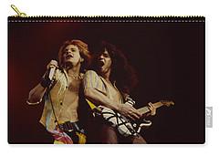 David Lee Roth And Eddie Van Halen - Van Halen- Oakland Coliseum 12-2-78   Carry-all Pouch by Daniel Larsen