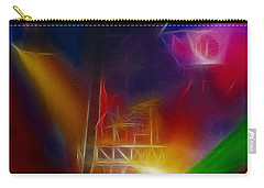 Def Leppard-adrenalize-gf10-fractal Carry-all Pouch by Gary Gingrich Galleries