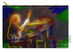 Def Leppard-adrenalize-gf24-ricka-fractal Carry-all Pouch by Gary Gingrich Galleries