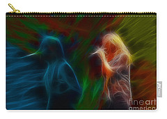 Def Leppard-adrenalize-jor-gb20--fractal Carry-all Pouch by Gary Gingrich Galleries