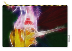 Deff Leppard-adrenalize-joe-gf25-fractal Carry-all Pouch by Gary Gingrich Galleries