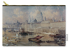 Design For The Thames Embankment Carry-all Pouch by Thomas Allom