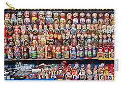 Display Of The Russian Nesting Dolls Carry-all Pouch by Panoramic Images