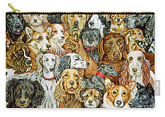 Dog Spread Carry-all Pouch by Ditz
