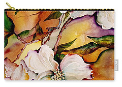 Dogwood In Spring Colors Carry-all Pouch by Lil Taylor