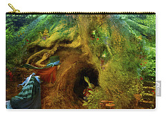 Down The Rabbit Hole Carry-all Pouch by Aimee Stewart