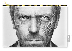 Dr. Gregory House - House Md Carry-all Pouch by Olga Shvartsur