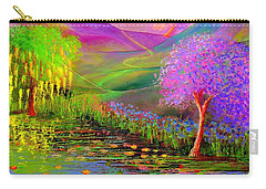 Dream Lake Carry-all Pouch by Jane Small