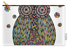 Dream Owl Carry-all Pouch by Susan Claire
