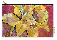 Early Spring I Daffodil Series Carry-all Pouch by Shadia Derbyshire