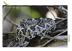 Eastern Diamondback-1 Carry-all Pouch by Rudy Umans