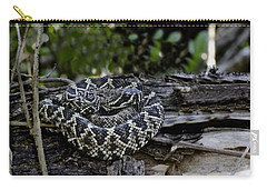 Eastern Diamondback-2 Carry-all Pouch by Rudy Umans