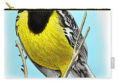 Eastern Meadowlark Carry-all Pouch by Roger Hall