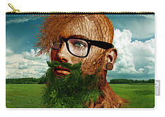 Eco Hipster Carry-all Pouch by Marian Voicu