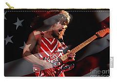 Eddie Van Halen Carry-all Pouch by Marvin Blaine