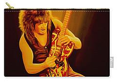 Eddie Van Halen Painting Carry-all Pouch by Paul Meijering