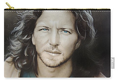 ' Eddie Vedder ' Carry-all Pouch by Christian Chapman Art