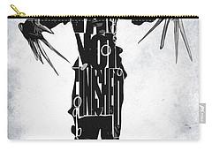 Edward Scissorhands - Johnny Depp Carry-all Pouch by Ayse Deniz