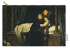 Edward V 1470-83 And Richard, Duke Of York In The Tower Les Enfants Dedouard 1830 Oil On Canvas See Carry-all Pouch by Hippolyte Delaroche