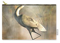 Egret Carry-all Pouch by Daniel Eskridge