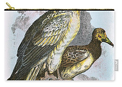 Egyptian Vulture Carry-all Pouch by English School
