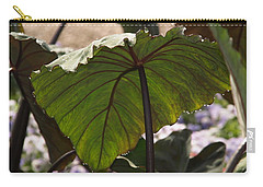 Elephant Ear Carry-all Pouch by James Peterson