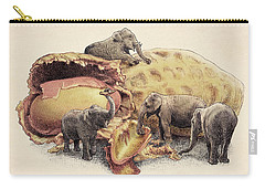 Elephant's Paradise Carry-all Pouch by Eric Fan