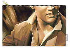 Elvis Presley Artwork Carry-all Pouch by Sheraz A
