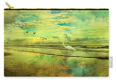 Emerald Evening Carry-all Pouch by Betsy Knapp