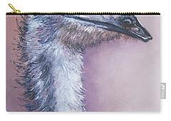 Emu By Jan Matson Carry-all Pouch by Jan Matson