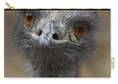 Emu Portrait Carry-all Pouch by San Diego Zoo