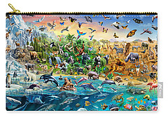 Endangered Species Carry-all Pouch by Adrian Chesterman
