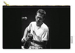 Eric Clapton 003 Carry-all Pouch by Timothy Bischoff