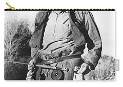 Ernest Hemingway Fishing Carry-all Pouch by Underwood Archives