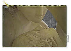 Eternal Love - Psyche Revived By Cupid's Kiss - Louvre - Paris Carry-all Pouch by Marianna Mills
