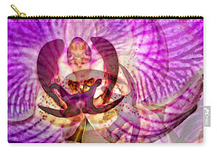 Ethereal Orchid By Sharon Cummings Carry-all Pouch by Sharon Cummings
