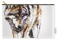 European Wolf Carry-all Pouch by Mark Adlington