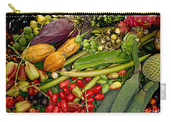 Exotic Fruits Carry-all Pouch by Carey Chen
