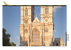 Facade Of A Cathedral, Westminster Carry-all Pouch by Panoramic Images