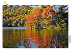 Fall Reflection Carry-all Pouch by Todd Hostetter