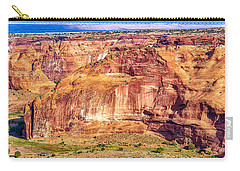 Farming In Canyon De Chelly Carry-all Pouch by Bob and Nadine Johnston
